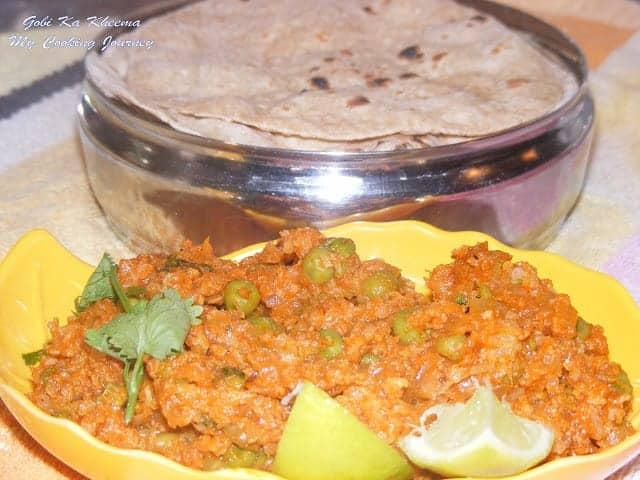 Gobi Ka Kheema (Minced Cauliflower)