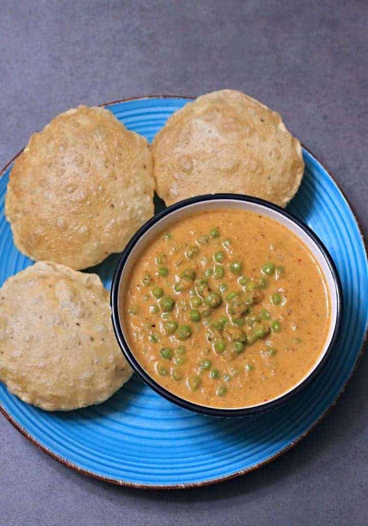 Kerala Style Peas Masala Curry