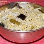 Payatham Paruppu Sundal / Moong dal (Split green gram dal) Sundal