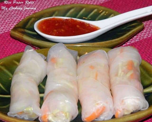 Rice Paper Rolls/Spring rolls/Summer rolls