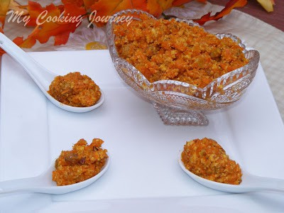 Carrot halwa %%