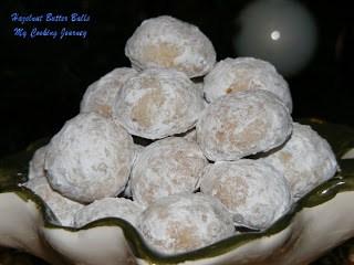 Hazelnut butter balls %%