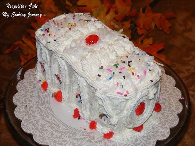 Neopolitan cake %%