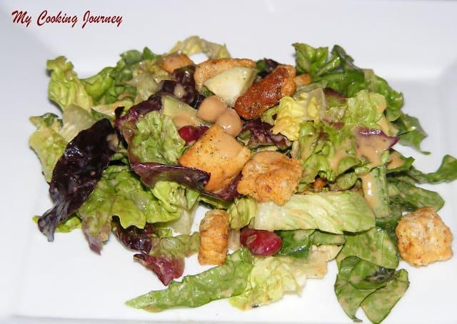 Asian style salad dressing %%