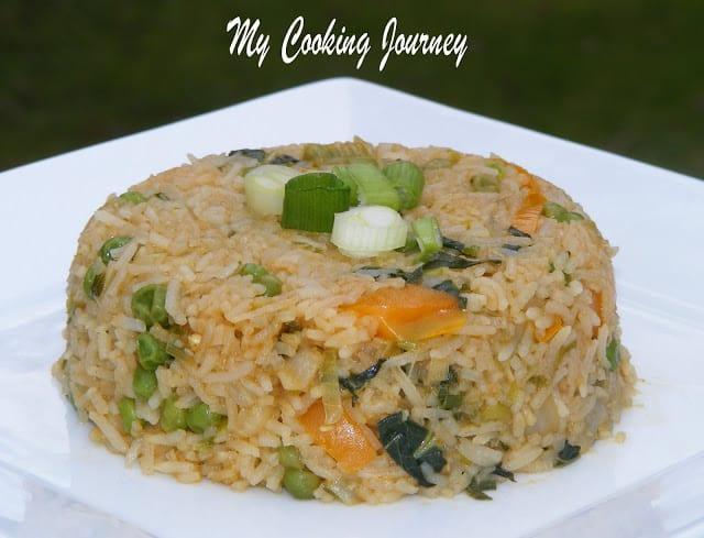 Bok Choy Fried Rice