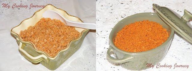 Ellu Podi/Ellu Saadham (Spiced Sesame Seed Powder/Spiced Sesame Rice)