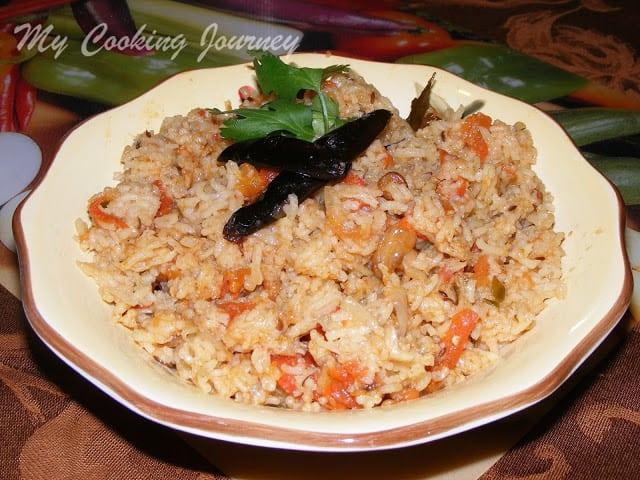 Tomato Biriyani (Taste and Create)