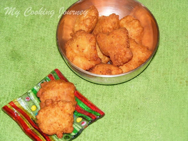 Aama Vadai/Channa Dal Vadai/Split Bengal gram fritters (BM # 27)