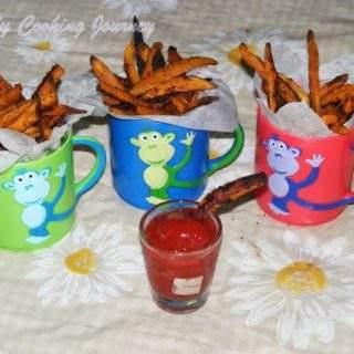 Baked Sweet Potatoes Fries Recipes