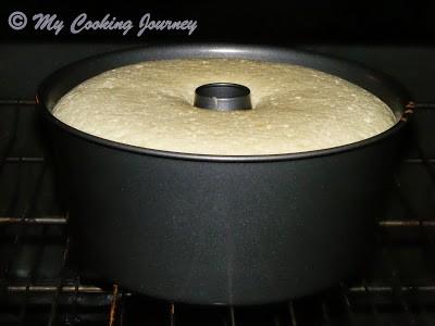 Bake Lemon Glow chiffon cake