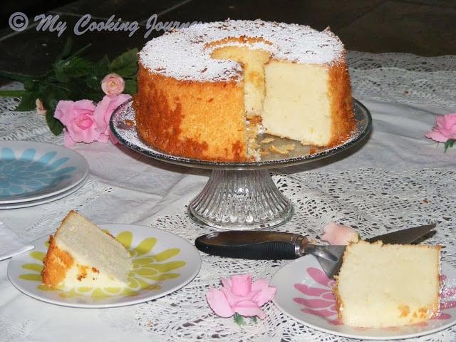 Lemon Glow chiffon cake %%
