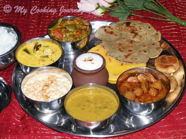 Rajasthani Thali %%