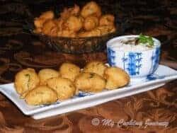 Thavala vada with coconut chutney