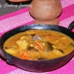 Kathirikkai Kaara Kuzhambu (Spicy Eggplant/brinjal in Tamarind gravy)
