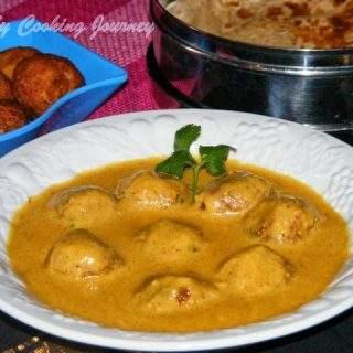 Kofta Noor Jahani | Vegetable And Paneer Koftas In Creamy Gravy