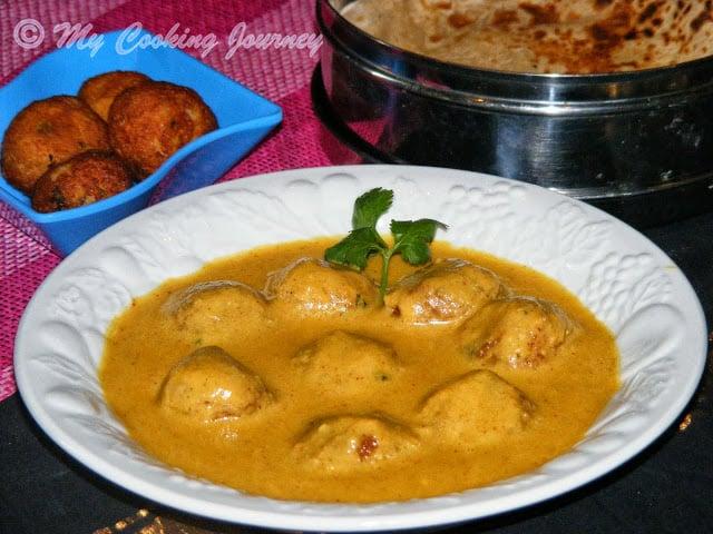 Kofta Noor Jahani – Vegetable and Paneer Koftas cooked in Creamy Gravy – BM # 33