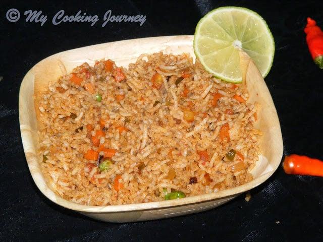 Tawa Pulao – A Popular Mumbai Street Food