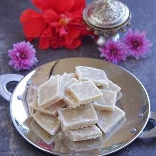 Maida Burfi | Maida Cake Recipe