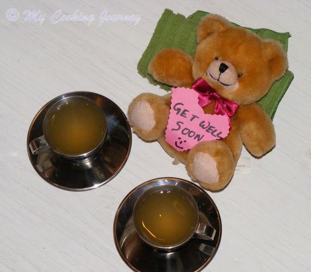 Honey Lemon Ginger Tea %%