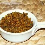 Pavakkai Podi / Bitter Gourd Podi / Spiced Bitter Gourd Powder