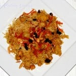 Quabuli Pulao / Kabuli Pulao – National Dish of Afghanistan (Vegetarian)