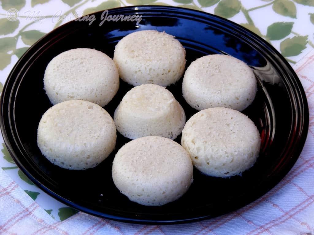 Goa Sannas with Special coconut chutney %%