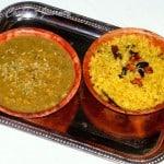 Mitha Khechudi and Mitha Dali from Odisha/Orissa – Sweet Kichadi with Sweet Dal