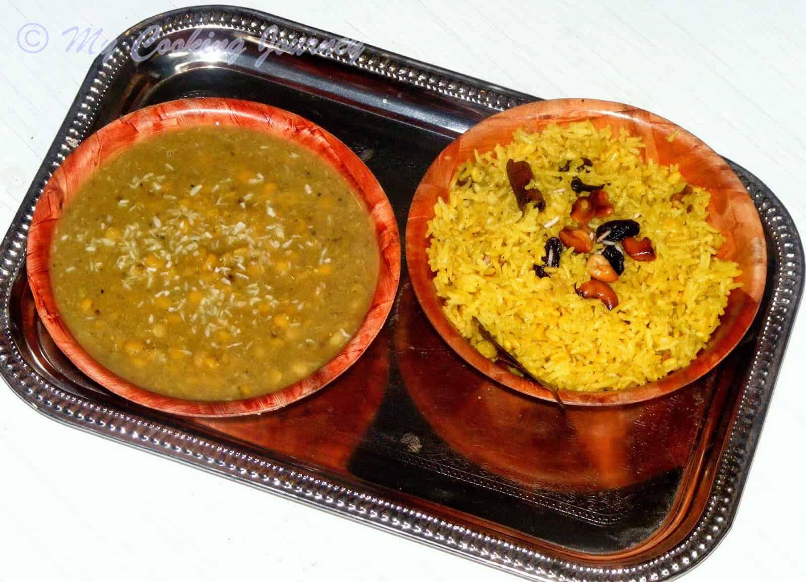 Mitha Khechudi And Mitha Dali From Odisha Orissa Sweet