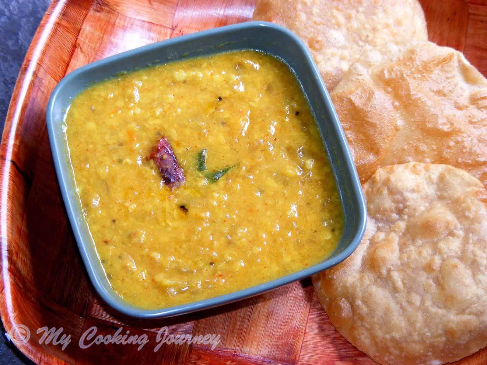 Mango Tuvar Dal made the Uttar Pradesh Style (Raw Mangoes and lentils) – No Onion, No Garlic recipe