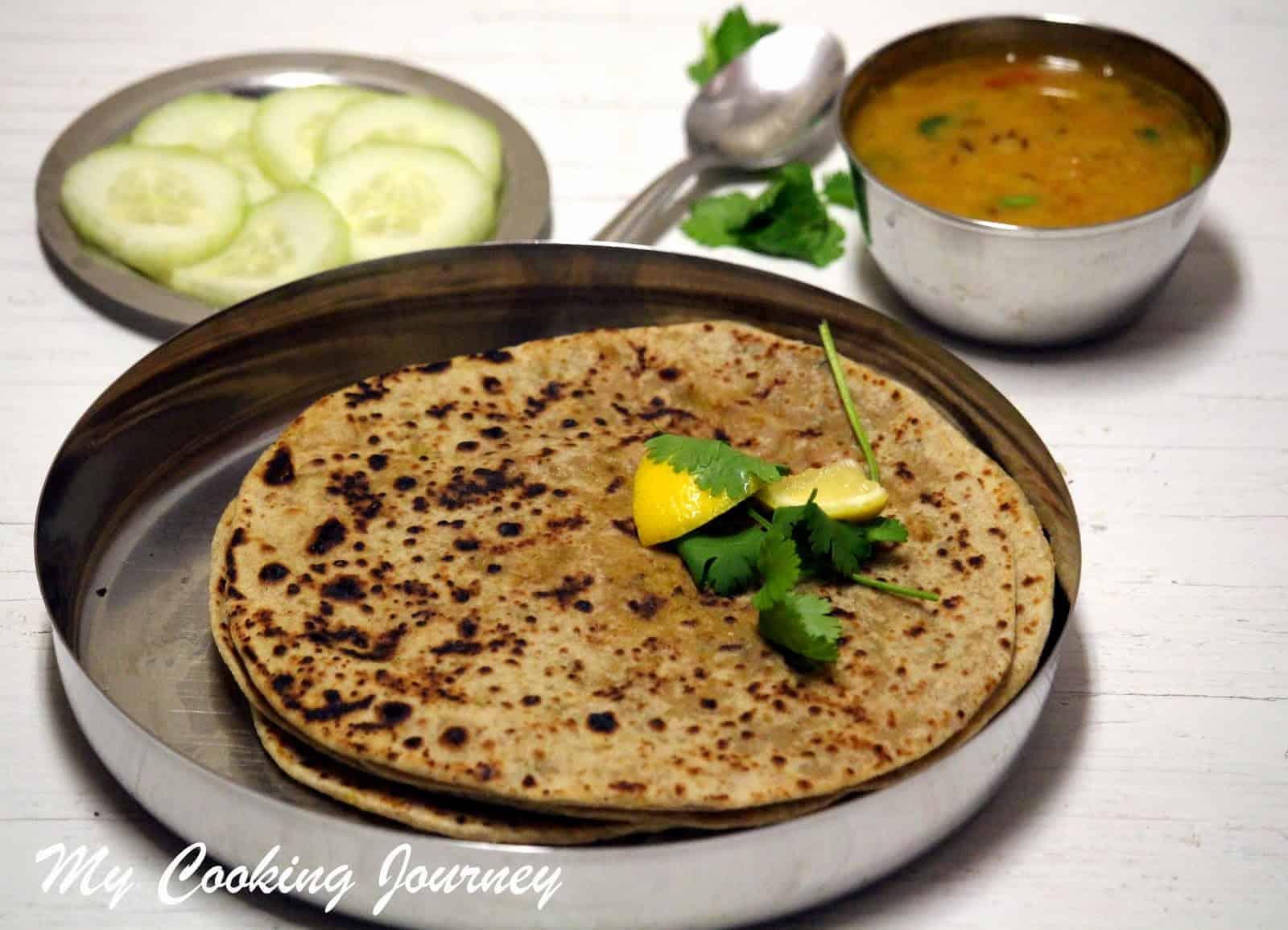 Gobhi Paratha – Cauliflower stuffed Paratha