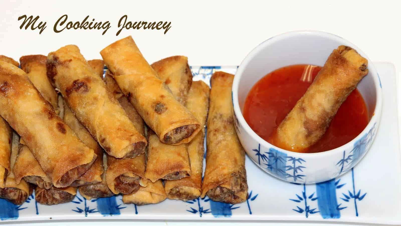 Spring Rolls – Vegetable and Tofu Spring Rolls