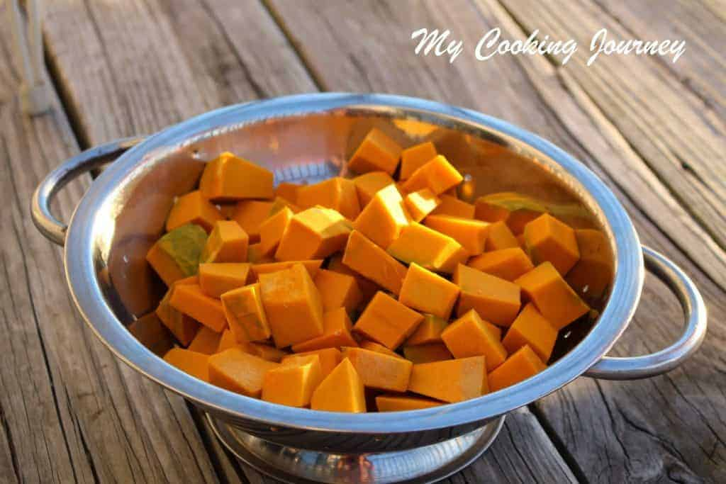 Pumpkin Subzi