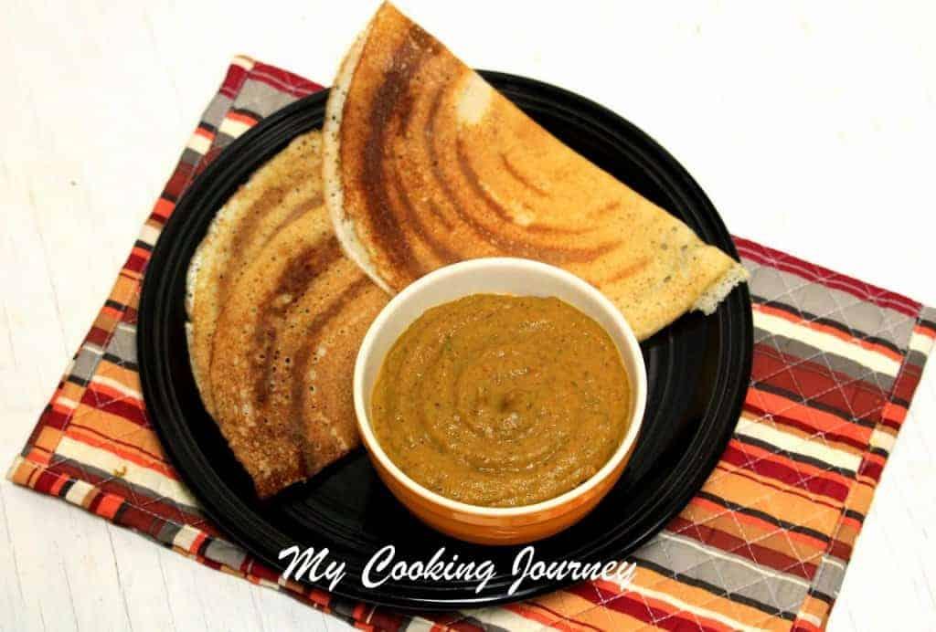 Vengayam Thakkali kothamalli chutney