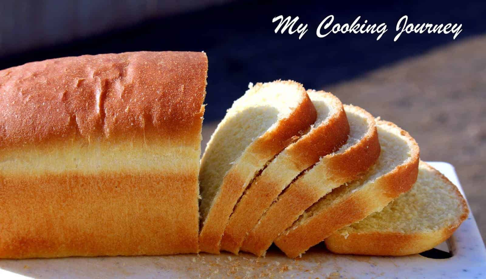 Semolina Bread Side view