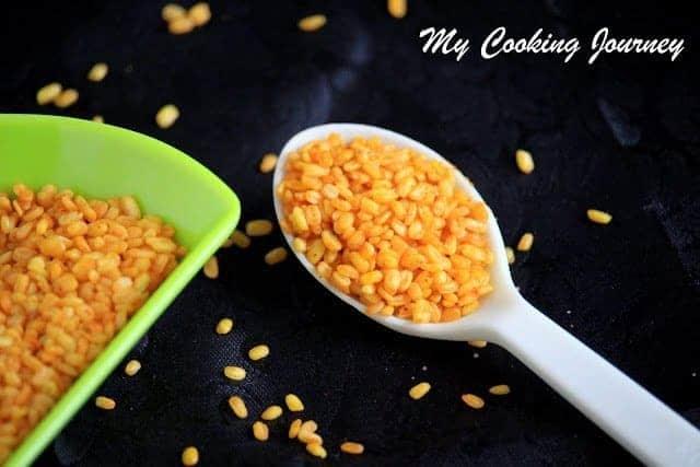 Crunchy Moong dal