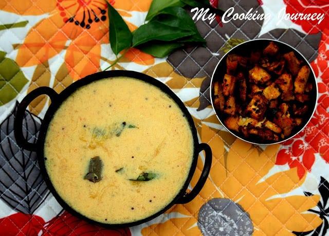 Maambazham Morkuzhambu – Mango MorKuzhambu – Mango Buttermilk Stew