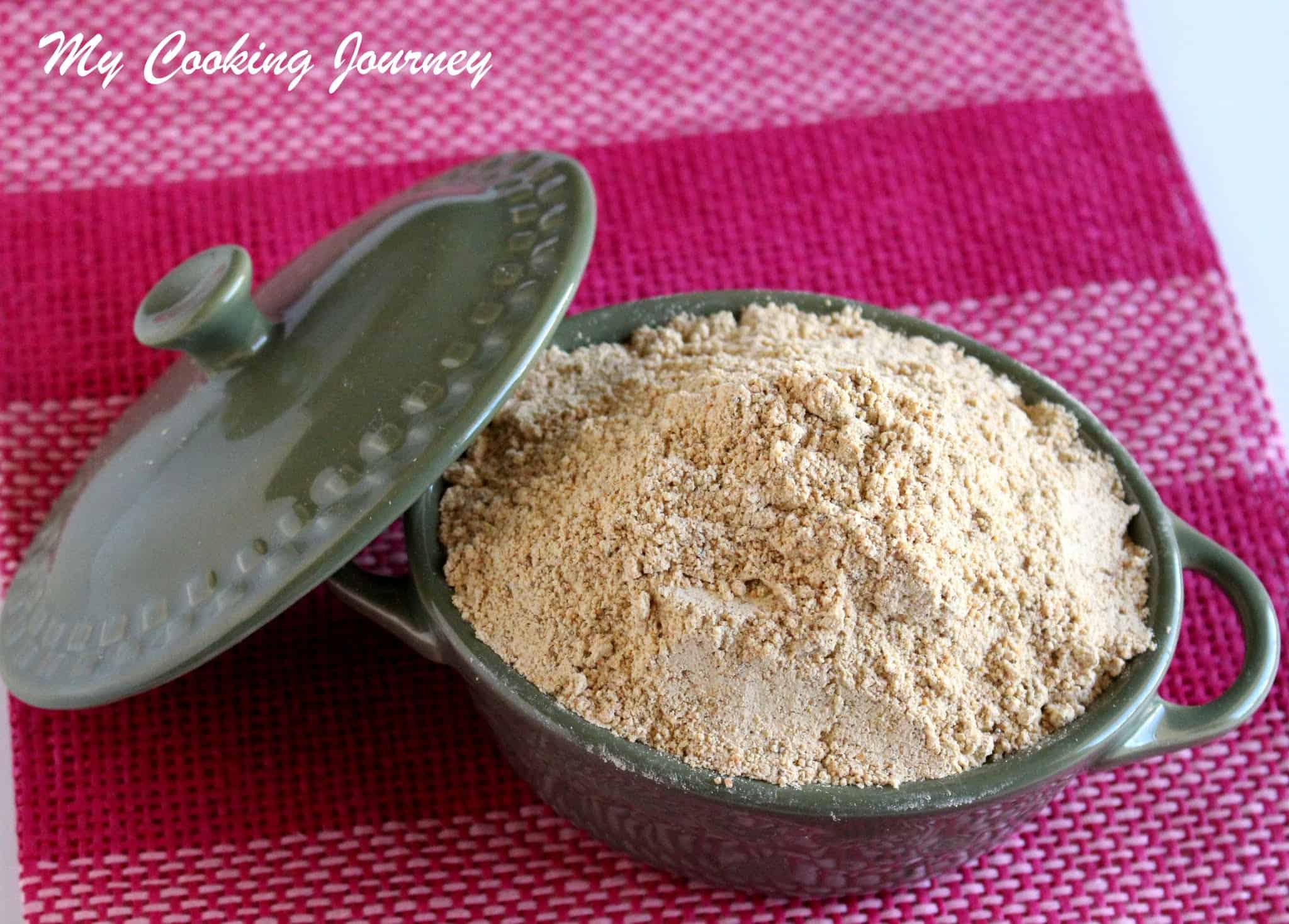 Paruppu Podi – Spiced Lentil Powder for Rice