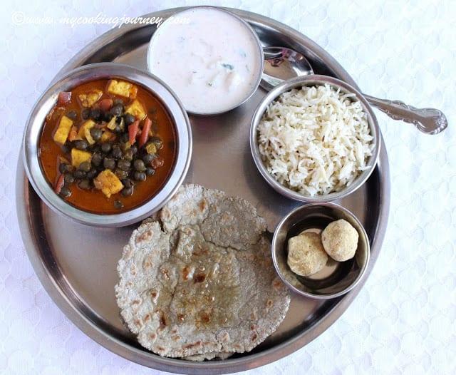 Haryana Thaali in Plate