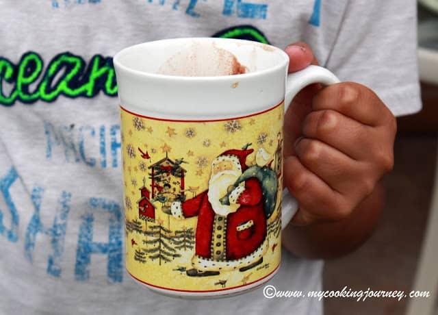 Hot chocolate %%