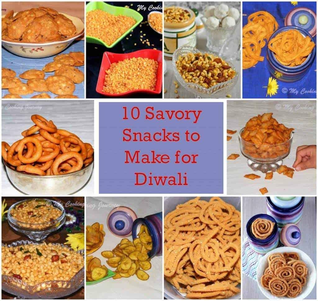 Savory Snacks for Diwali