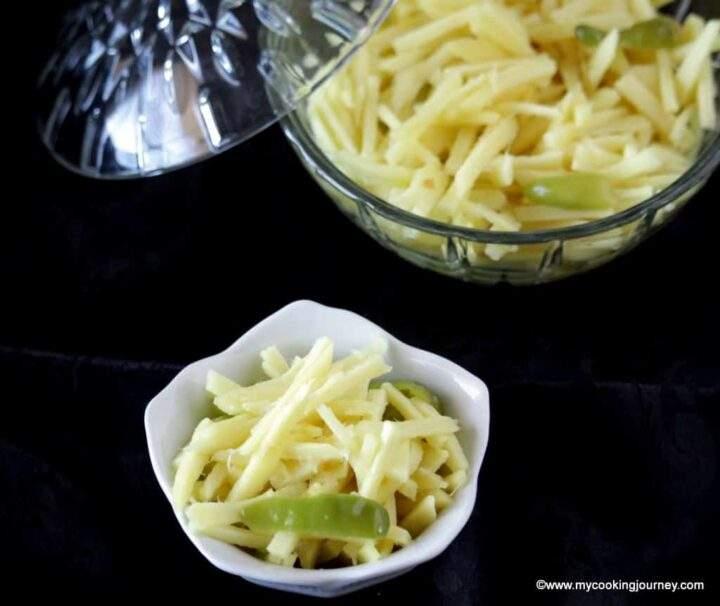 Instant ginger pickle recipe