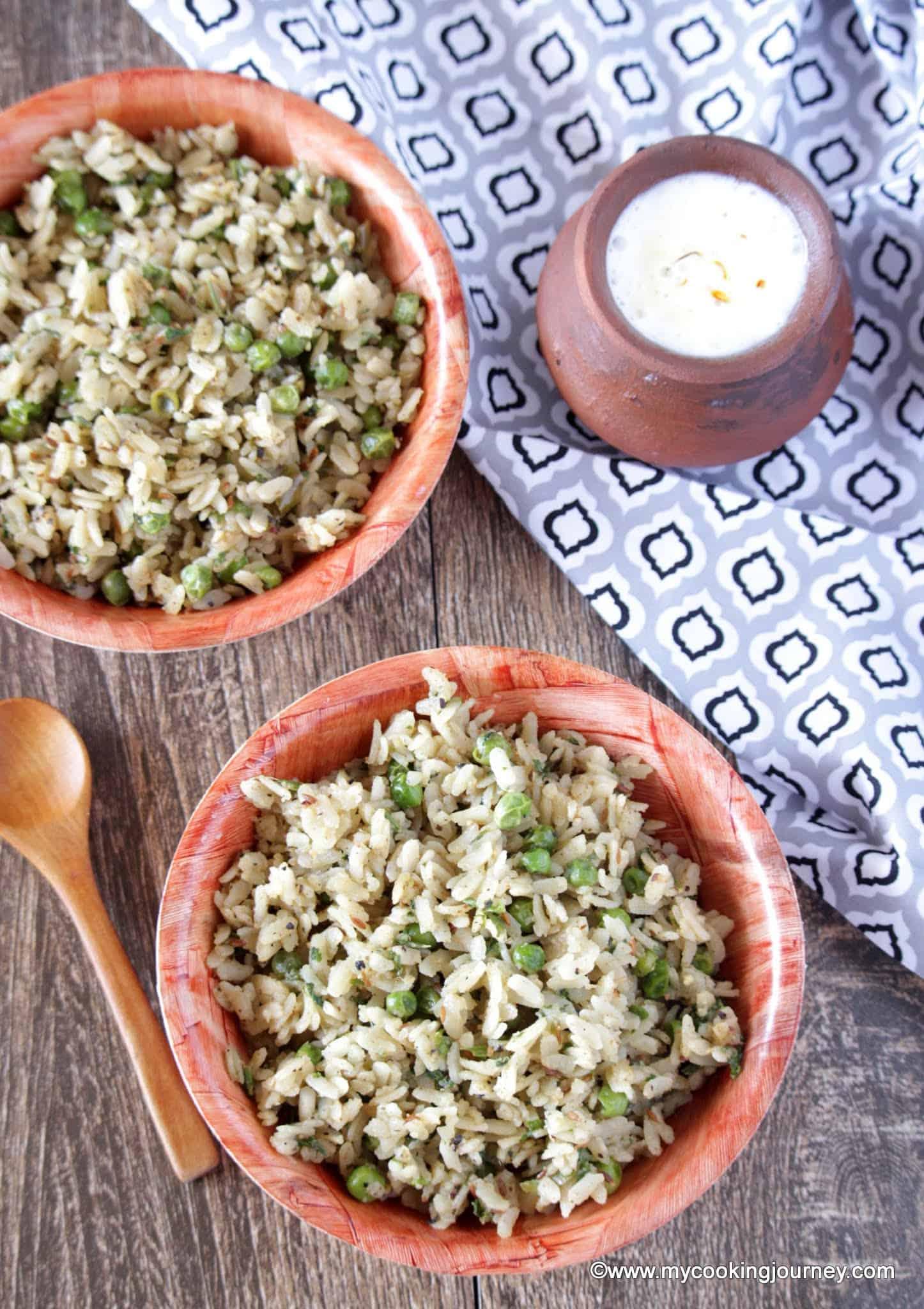 Chura Matar – Chooda Matar – Banaras Chooda Matar – Banaras Special Matar Poha – Flattened Rice with Green Peas