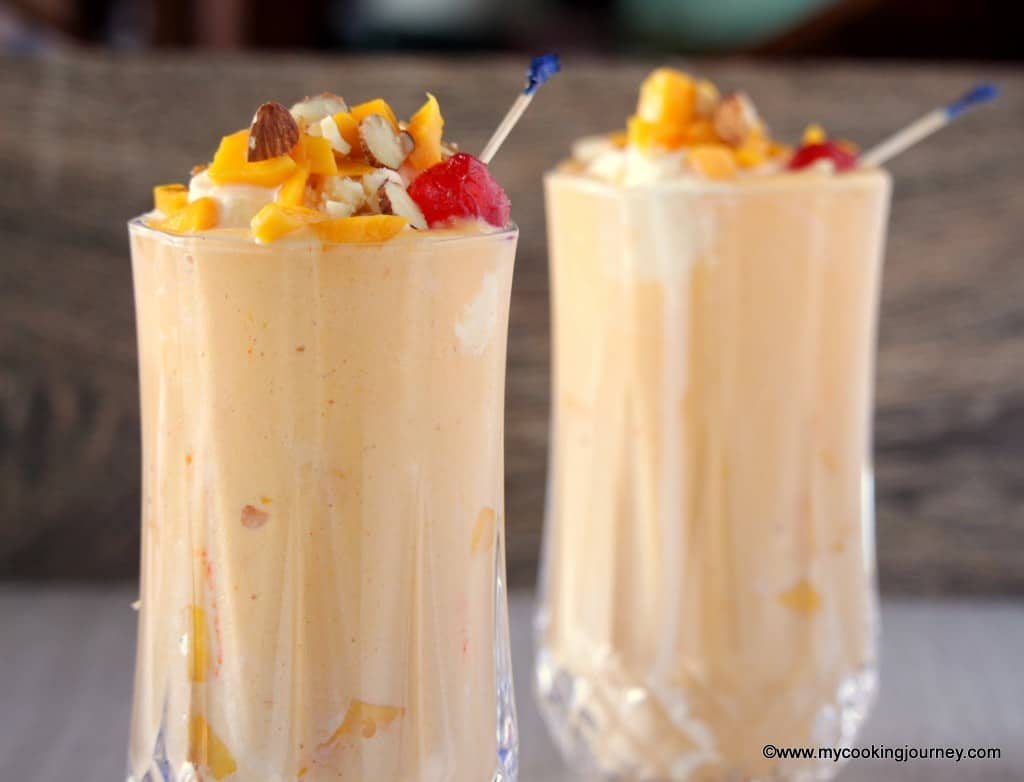 Mango Mastani – A Refreshing Mango Drink - Gearing up for Summer