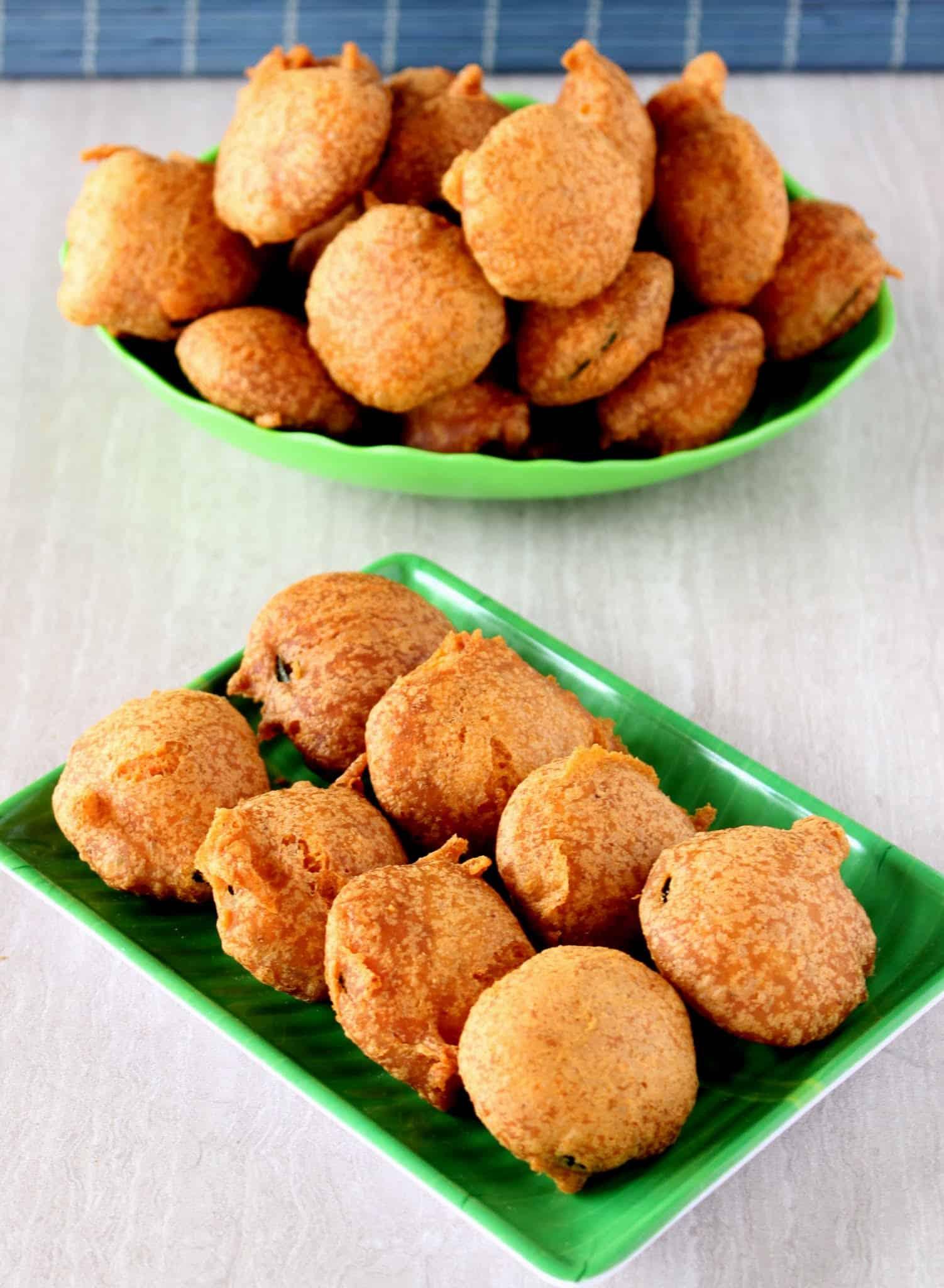 Z for Zucchini Bajji – Deep Fried Battered Zucchini