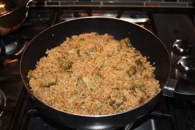 Broccoli Fried Rice %%