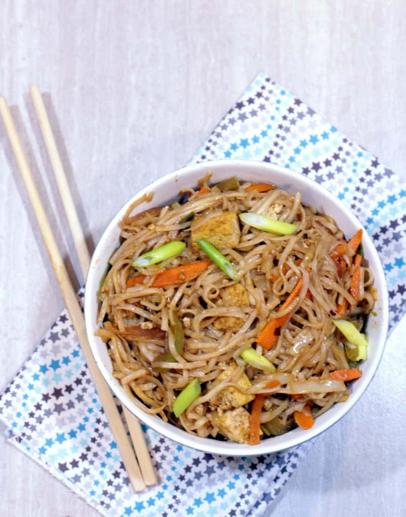 Hakka Noodles – Vegetable Hakka Noodles