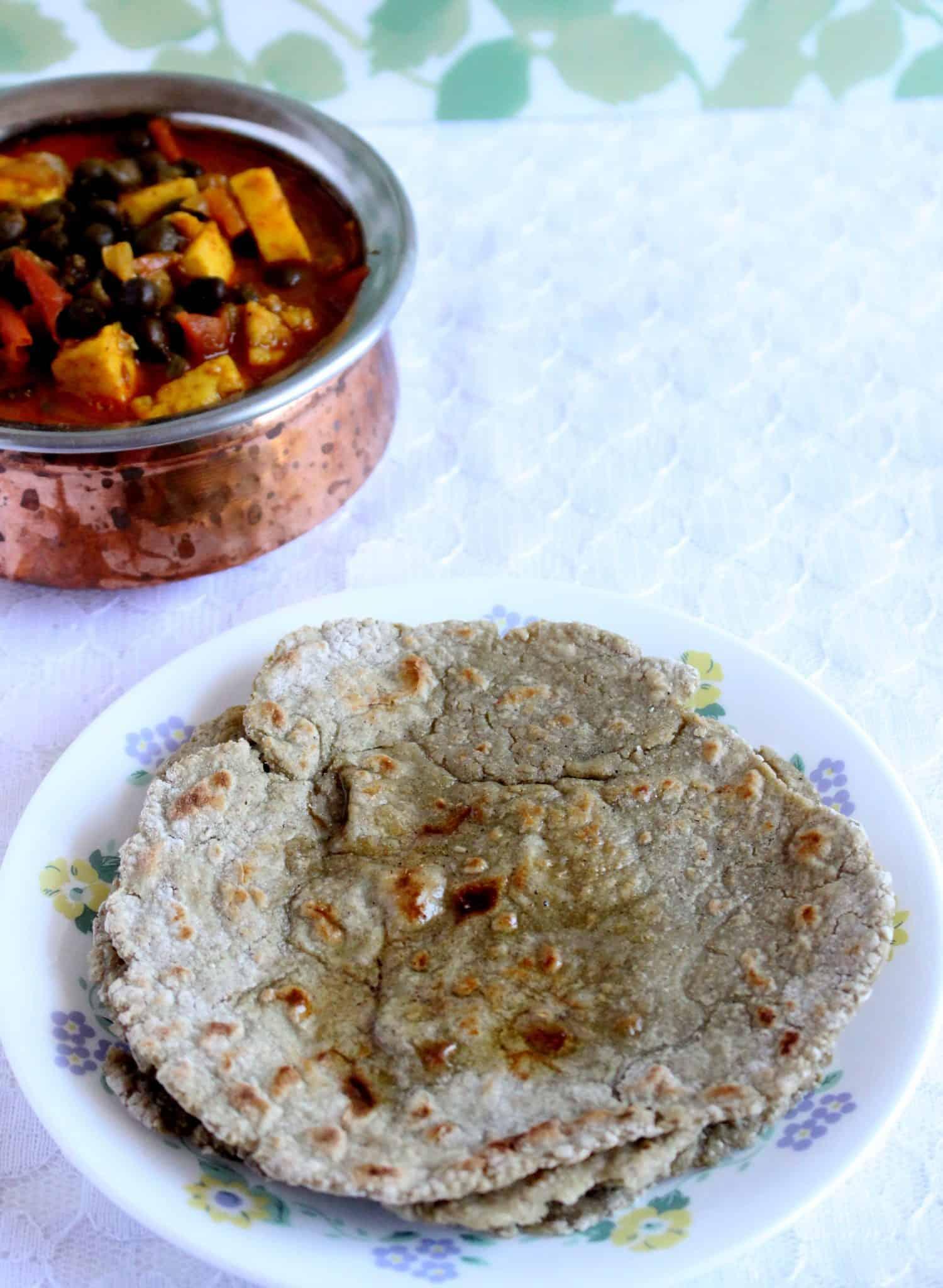 Haryana Bajra Roti – Gluten Free Millet Flatbread
