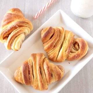 Franzbrötchen - German Croissant Recipe