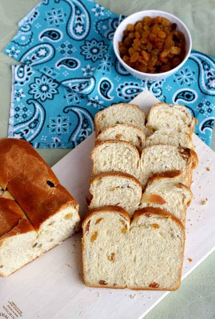I for Irish Freckle Bread