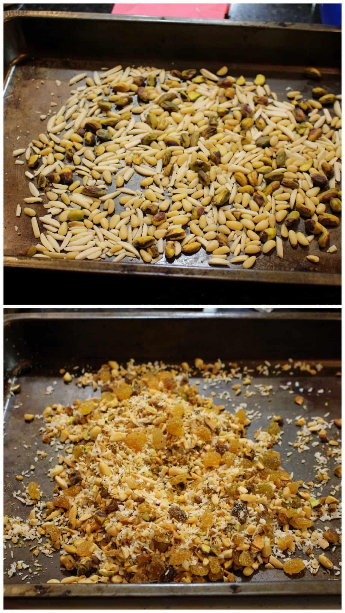 Roasting fry fruits